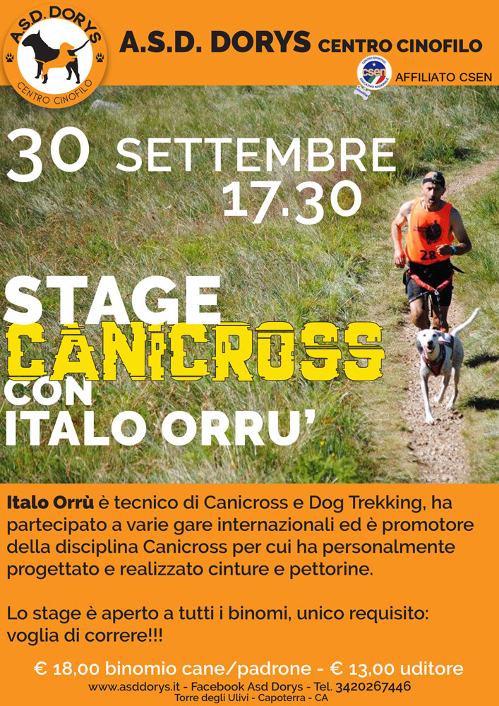 stage canicross