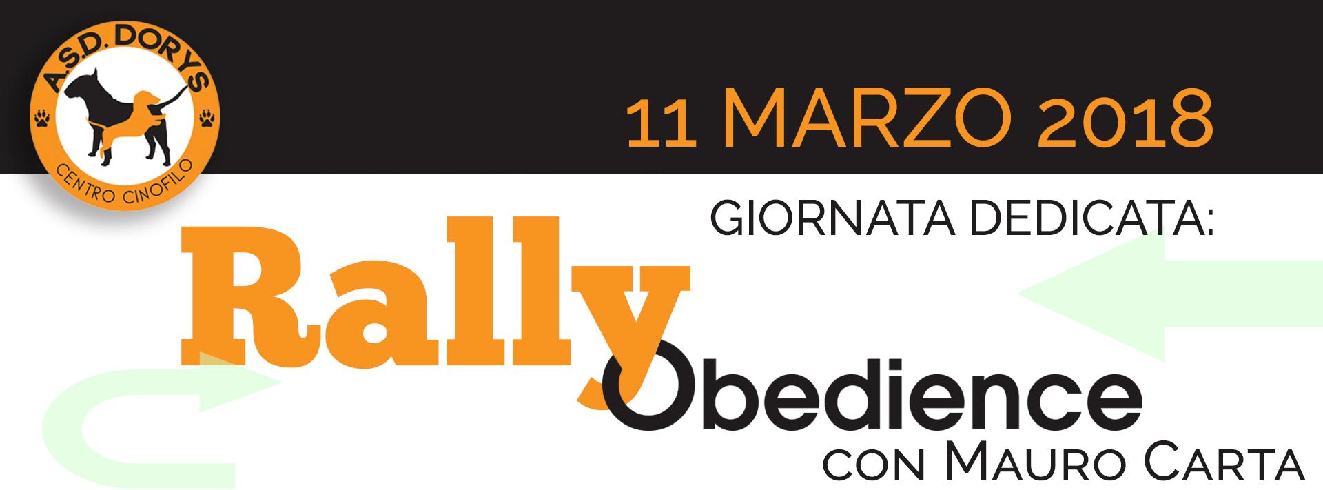 rally obedience 11 marzo asd dorys